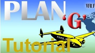 Plang Tutorial. Part 3, Ifr Flight Planning