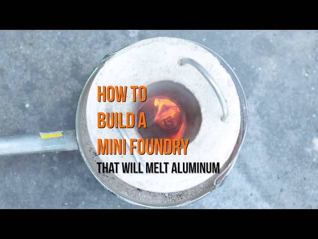 how to melt aluminum cans for casting survival life