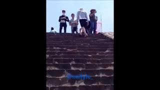 Shinee en Teotihuacan 5 abril 2014