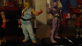 Streetfighter 4 PVC Figures by Bandai