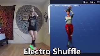 Fortnite dances reality vs game
