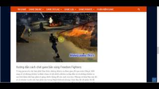 Tải Game Bắn Súng - Download Freedom Fighters Full Rip