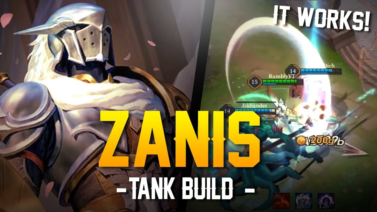 arena of valor builds zanis tank build zanis gameplay. Black Bedroom Furniture Sets. Home Design Ideas