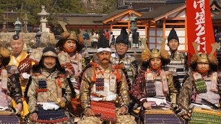 2014年、広島県・宮島で開催された清盛まつりで、元広島カープの前...