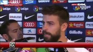 Пике расплакался и заявил об уходе из сборной Испании
