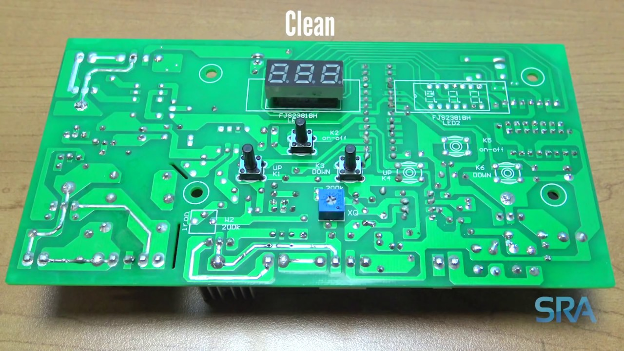 Ultrasonic Circuit Board Cleaning Pcb Wiring For Driving A Piezo Transducer Diagram Tradeoficcom How To Clean With An Cleaner Youtube Rh Com