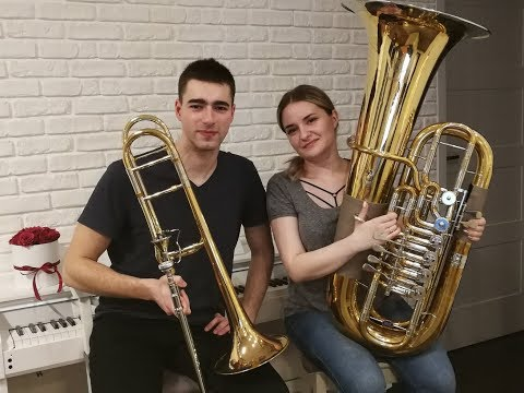 Havana - Camila Cabello - Double Brass (Trombone & Tuba Cover)