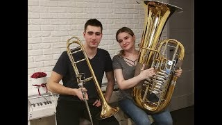 Havana Camila Cabello - Double Brass Trombone Tuba Cover.mp3