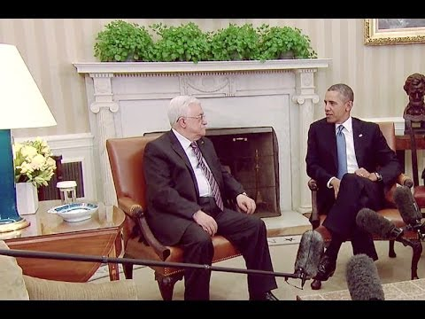President Obama's Bilateral Meeting with Palestinian Authority President Mahmoud Abbas
