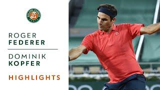 Roger Federer vs Dominik Köpfer - Round 3 Highlights I Roland-Garros 2021