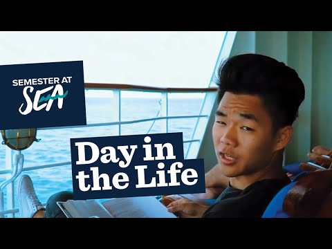 Day in the Life with Semester at Sea: Spring 2018