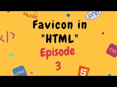 How to use Favicon in HTML[Episode 2] Web Designing Tutorial For Beginners [it's Computer/in Hindi] thumbnail