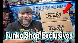 Funko Shop Exclusives Unboxing