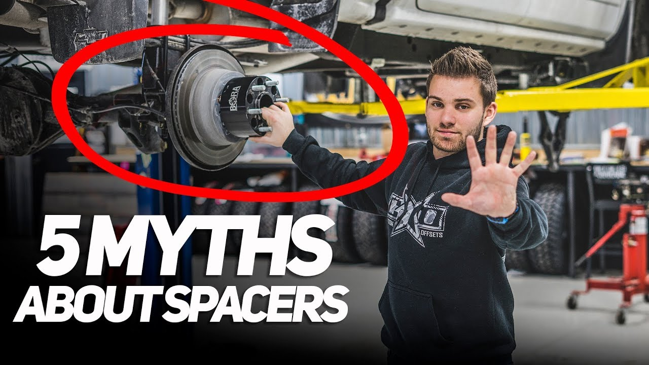 the 5 myths about wheel spacers [ 1280 x 720 Pixel ]