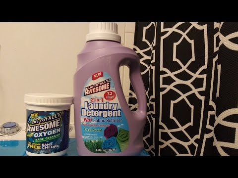 Dollar Tree Laundry Product Review