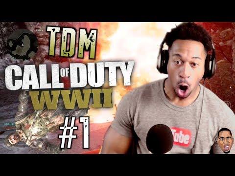 Call Of Duty WW2 - Team Deathmatch #1