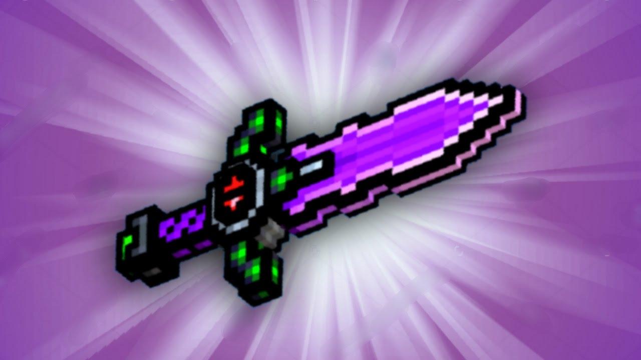 pixel gun 3d sword of shadows review youtube