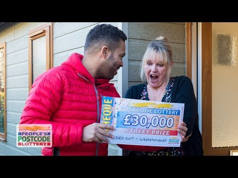 Street Prize Winners - DE4 5NT In Whatstandwell On 02/12/2017 - People's Postcode Lottery