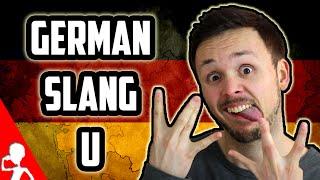 Learn German Slang | Letter U | Get Germanized