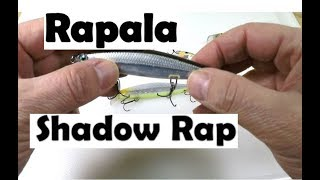 Rapala Shadow Rap Produces Fish