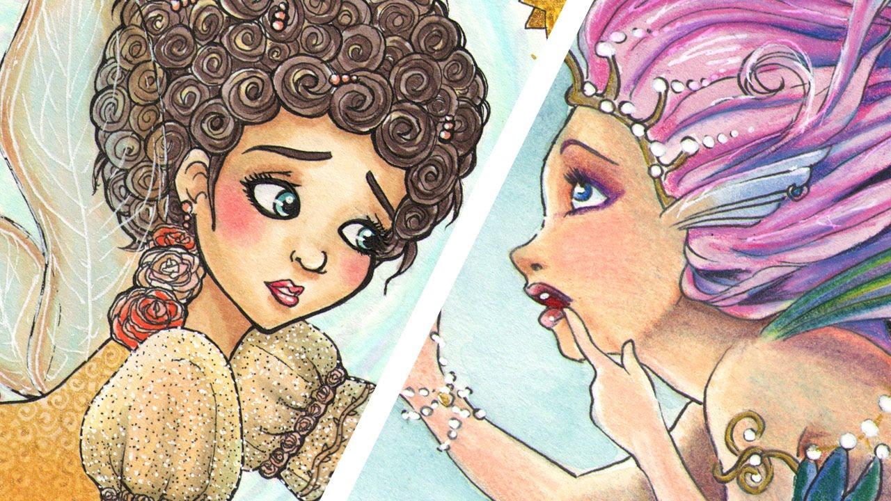 The Fairy And The Mermaid Art Ala Carte Collaboration