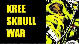 Kree Skrull War (Full 1971) - (Also) Captain Marvel Part 5