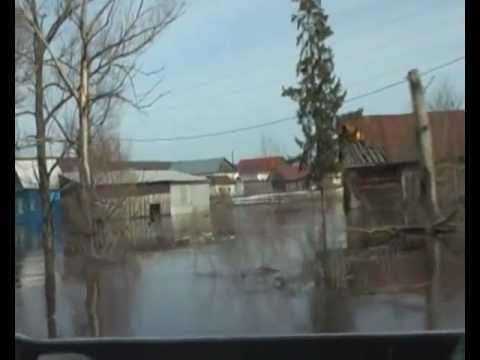 Село Поселки тонет - мчс бездействует. Кузнецкий район, Пензенская область