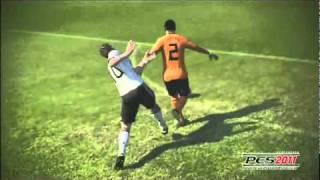 Pro Evolution Soccer 2011 Gameplay [Xbox 360]