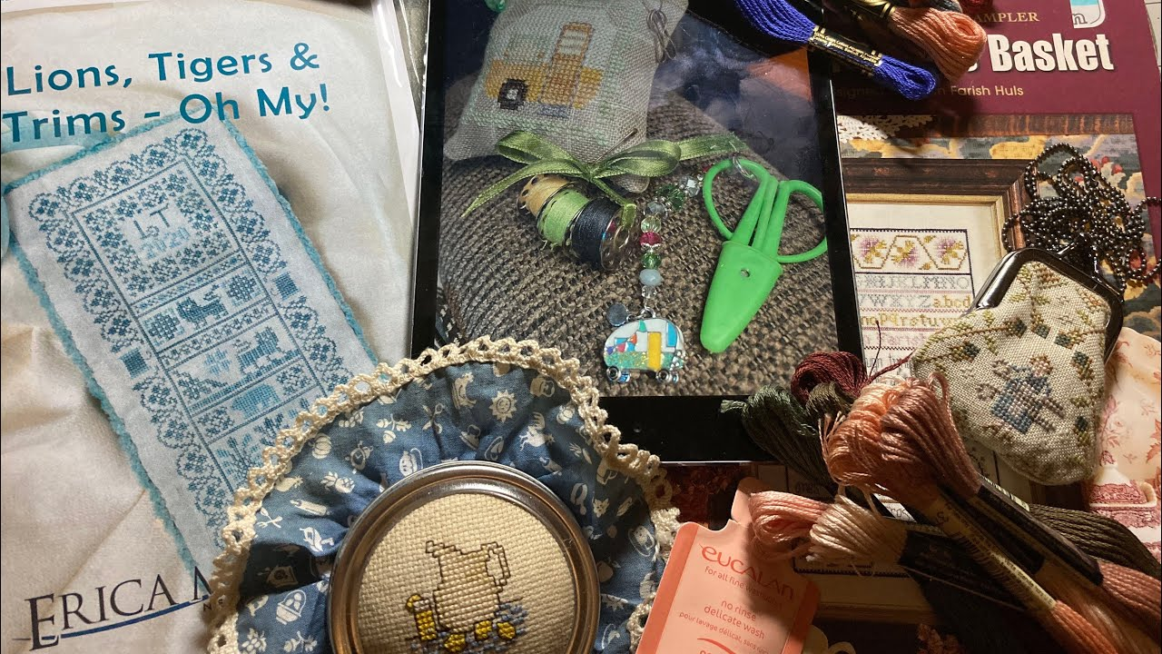 SHARING galore! JOY abounds! NEEDLEWORK of course! Country Stitchers V 101