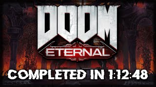 DOOM Eternal Speedrun - 1:12:48 (Any%)