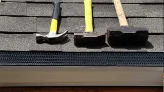 Durability Testing of the Raindrop Gutter Guard