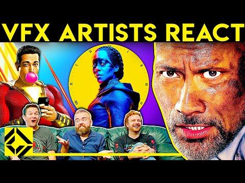 VFX Artists React To Bad & Great CGi 20