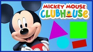 Mickey Mouse Clubhouse: Kids Learn Colors, Shapes, Numbers Mickey Mouse ABC's Children's Compilation