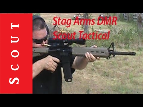 Stag Arms DMR Designated Marksman Rifle SPR AR-15 - Scout Tactical