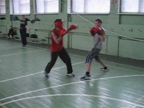 Бокс кондрово.2004 тренировка