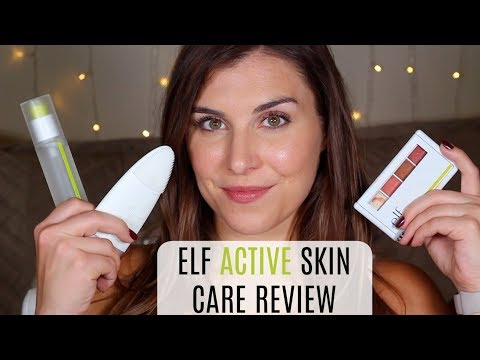 NEW from ELF: Active Skin Care & Makeup Review | Bailey B.