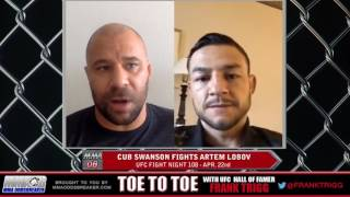 Frank Trigg interviews UFC Fight Night 108's Cub Swanson