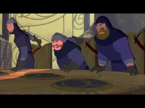 Cartoon killer : Quest for Camelot (1998)