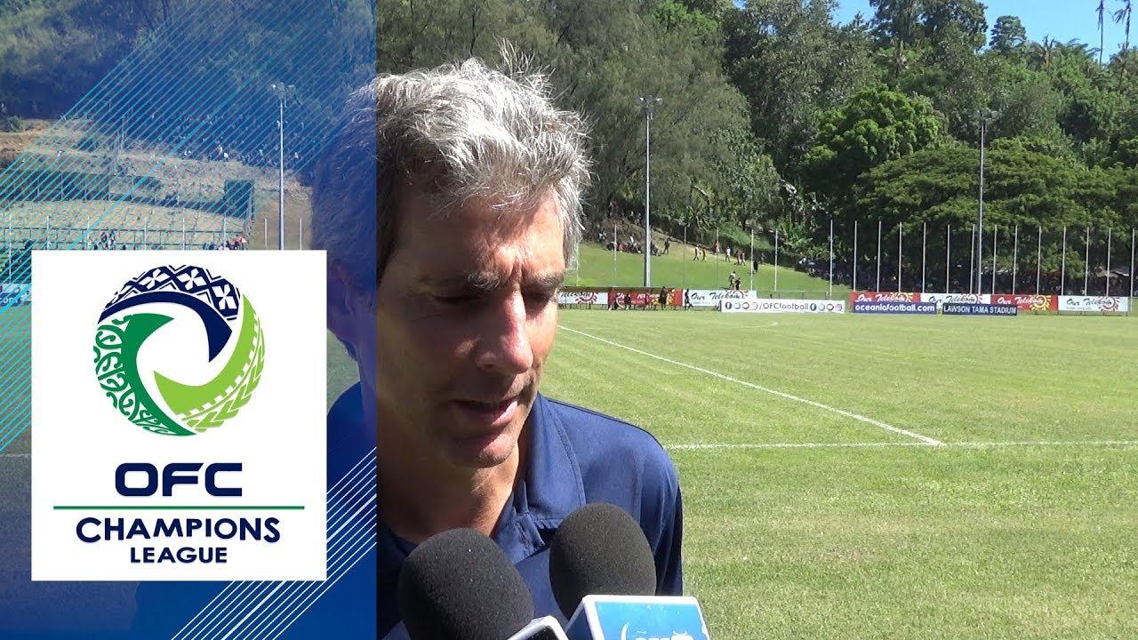 2019 Ofc Champions League Group D Post Match Iv Auckland City Fc Coach