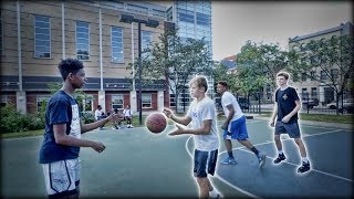 connectYoutube - White Kids VS. The Hood in Basketball!