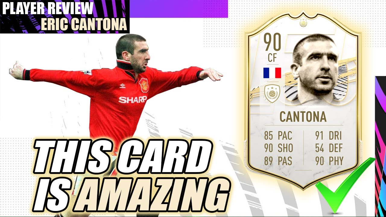 The man himself has even. This Guy Is Amazing Eric Cantona Player Review Fifa 21 Ultimate Team Youtube