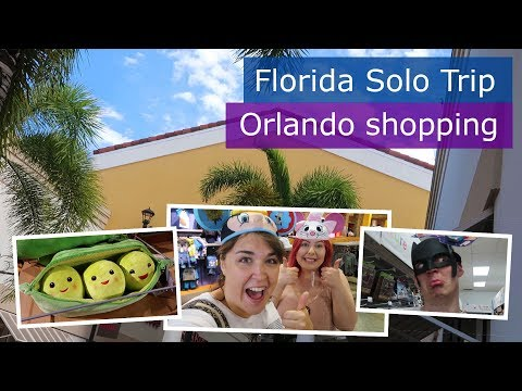 Day 7 | Orlando Premium Outlets & Florida Mall shopping | Walt Disney World solo trip | Florida 2017