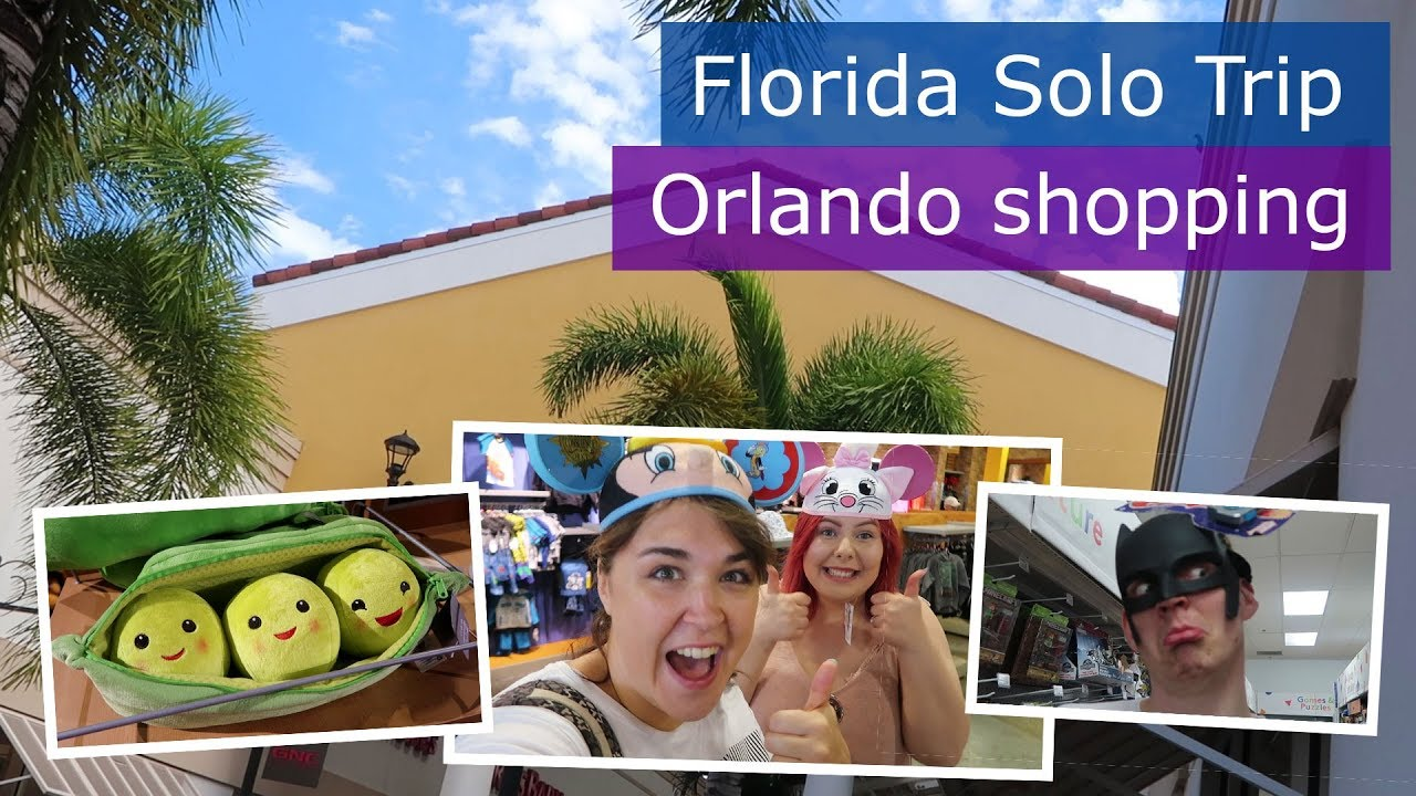 Day 7   Orlando Premium Outlets & Florida Mall shopping   Walt Disney World  solo trip   Florida 2017