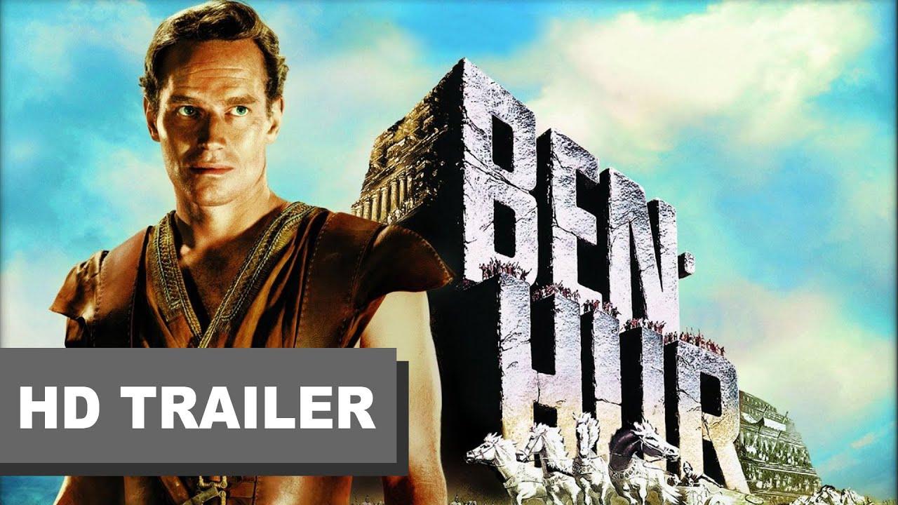 BEN HUR (1959) Digitálisan felújítva a mozikban! HD trailer, feliratos előzetes