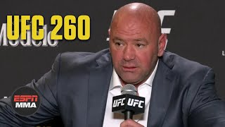 Dana White talks Francis Ngannou's win at UFC 260, if Jon Jones is next | ESPN MMA