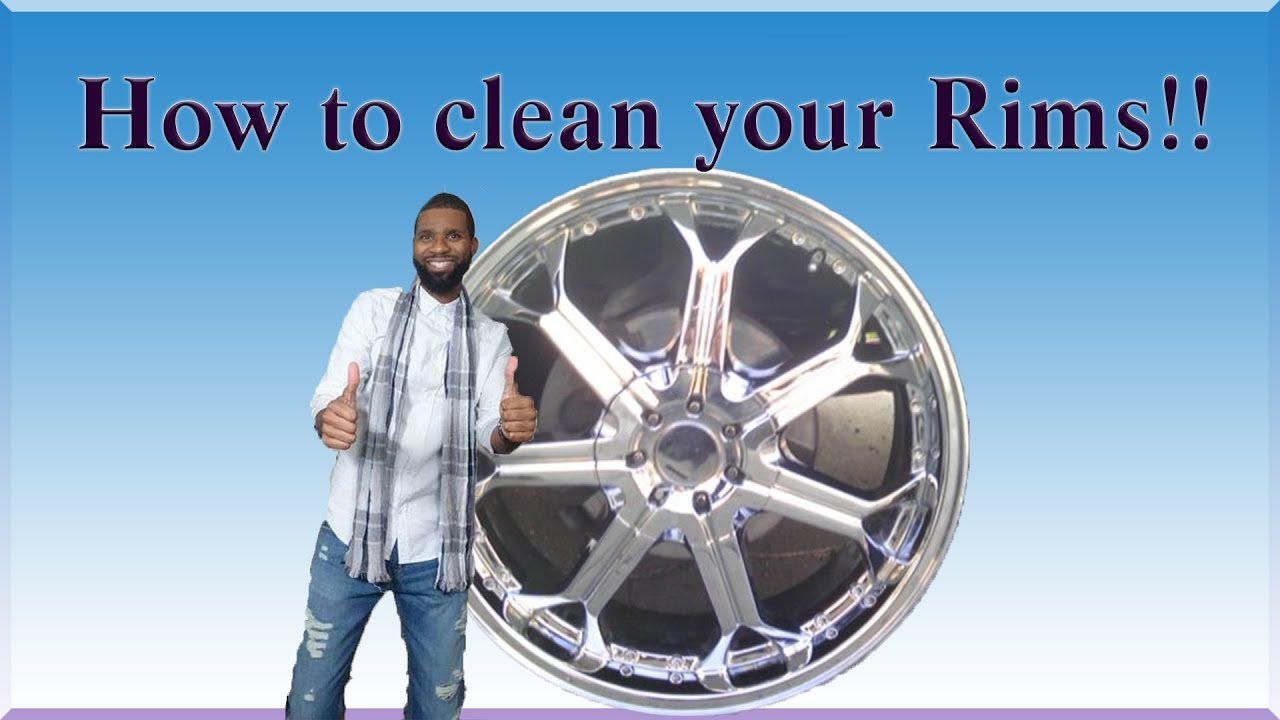 how to clean restore and polish your rims cheap and easy remove rust and brake dust youtube. Black Bedroom Furniture Sets. Home Design Ideas
