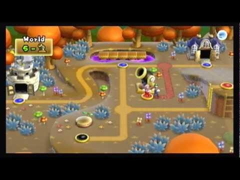 Cannon Super Mario Bros Wii Co Op 100 Walkthrough Part 3