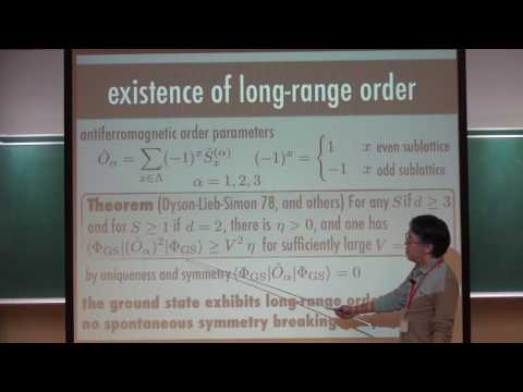 """Hal Tasaki, """"Spontaneous 'symmetry breaking' and entanglement formation in coupled BEC"""" Part I"""