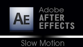 Tutorial After Effects - Slow Motion (Camera Lenta) Sem uso de Pluggin