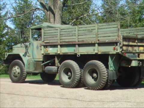 1972 AMGEN US Army 6x6 M35A2C Cargo Truck - SOLD
